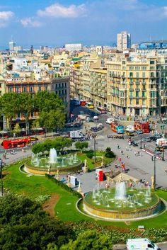 Placa Catalunya Catalonia Square Barcelona Spain Royalty Free Stock Photo, Pictures, Images And Stock Photography. Barcelona City, Barcelona Travel, Barcelona Catalonia, Madrid, Places Around The World, Around The Worlds, Hotel W, Places To Travel, Places To Go