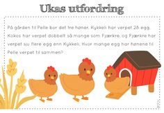 ukas utfordring Word Problems, Fourth Grade, Children, Kids, Classroom, Teaching, Activities, Education, School