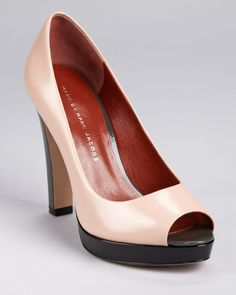 Marc by Marc Jacobs color block pumps. Obsessed.