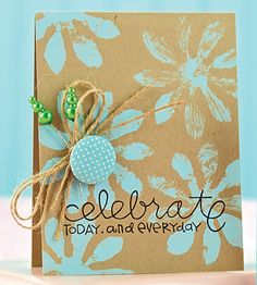 Love the idea to make one of the flowers 3D Card Making Inspiration, Making Ideas, Paper Crafts Magazine, Creating Keepsakes, Scrapbook Cards, Scrapbooking, Handmade Birthday Cards, Paper Cards, Creative Cards