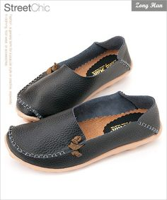BN Womens Comfy Slip on Flats Casual Shoes Black