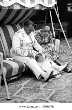 Hermann Goering with Emmy Goering and daughter Edda, 1939
