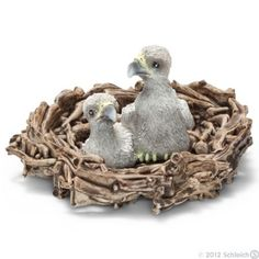 Baby Eagles in Nest (Schleich: Wild Life) at theBIGzoo.com, a toy store with over 12,000 products.