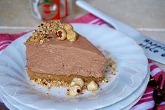 CHEESECAKE ALLA NUTELLA, SENZA COTTURA Il Cheesecake alla Nutella Senza Cottura è un dolce Golosissimo ma Facile e Veloce, perfetto per la stagione calda i