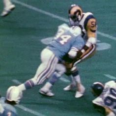 earl campbell vs rams - Google Search