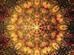 Fall Autumn Colors  Mandala  download .jpg by DMaCPhotography