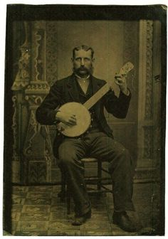 another Victorian banjo player Best Guitar Players, Cozy Mysteries, Murder Mysteries, Southern Gothic, Daguerreotype, Music People, Before Us, Vintage Pictures, Vintage Photographs
