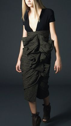 Gorgeous Burberry dress ....
