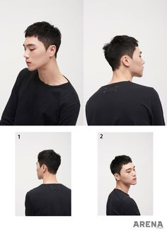 Korean men hairstyle trend 2017
