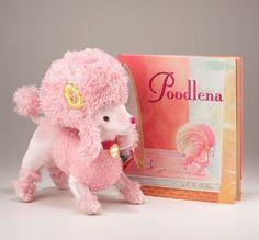 Amazon.com: Poodlena Plush Toy & Book Gift Set: Toys & Games