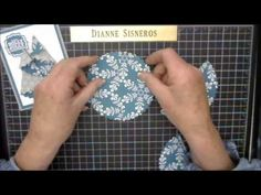"Folded Tree tutorial using SU Circle Framelits (the 4 3/4 inch scallop one) ""Dianne Will Teach Me That"" - YouTube"
