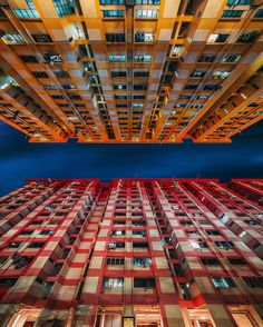 Red Vs Yellow Colorful HDB Flats Of Rochor Centre In Singapore Sadly Due