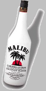 Malibu Punch recipe  1 1/4 oz Malibu® coconut rum  fill with pineapple juice  1 squirt grenadine syrup  1 splash 7-Up® soda