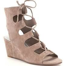 Dolce Vita Louise Lace Up Ghillie Wedge Sandals