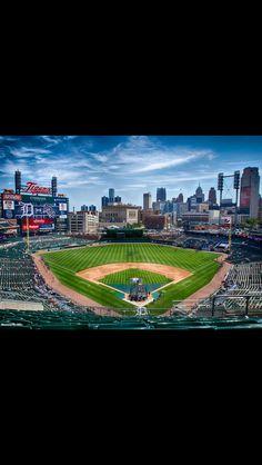 Comerica Park, Detroit, MI  Detroit Tigers