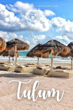 Read all about things to do in Tulum, Tulum restaurants, Tulum food, Tulum hotels, Tulum beach, Tulum ruins and Tulum design in this Tulum Mexico travel guide! #tulum #mexico #travelguide #beachvacay