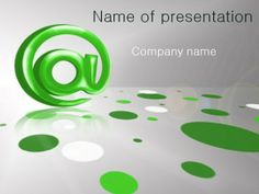 Email powerpoint template