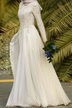 fbf07308603 28 meilleures images du tableau Robe de mariée musulmane