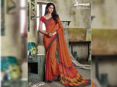 Get this awesome Mustard Yellow Pink Georgette Saree for your special occasion like casual, daily, evening wear from Laxmipati Saree. #Catalogues#SONPARI Price - Rs.1069.00 Visit for more designs@ www.laxmipati.com  #ReadyToWear #OccasionWear #Ethnicwear #FestivalSarees #Fashion #Fashionista #Couture #SONPARI0816 #LaxmipatiSaree #autumn #winter #women #her #she #mystery #lingerie #black #lifestyle #life #ColoursOfIndia #HappyBride #WhoYouAre #WomanPower #EpicLove #Ministryoftextiles Laxmipati Sarees, Georgette Sarees, Occasion Wear, Special Occasion, Powerful Women, Daily Wear, Mustard Yellow, Bridal Collection, Casual Wear