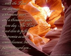 Verse of the Day: One Day is as a Thousand Years - 2 Peter 3:8-9