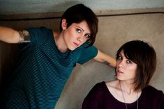 """NEWS: The indie pop band, Tegan and Sara, have announced the """"Let's Make Things Physical Tour"""" in support of their latest album """"Heartthrob."""" They'll be out with Lucius, The Courtneys and My Midnight Heart. You can check out the dates, details and announcement video at http://digtb.us/teganandsaratour"""
