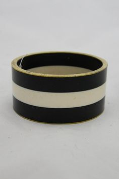 Black/white Bangle Bracelet - main