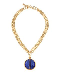 Paige Novick - Small Medallion Necklace - Last Call