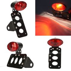 59456 motorcycle-parts BLACK SIDE MOUNT LICENSE PLATE HOLDER TAIL LIGHT FOR HARLEY BOBBER CUSTOM  BUY IT NOW ONLY  $35.9 BLACK SIDE MOUNT LICENSE PLATE HOLDER TAIL LIGHT FOR HARLEY BOBBER CUSTOM...