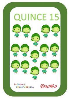 Tarjetas de Números Inside Out 1-20 (15) Puzzles Numeros, Comics, Words, Baby, Preschool Body Theme, Preschool Math Activities, Card Games, Cartoons, Baby Humor