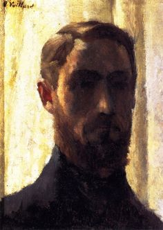 Self-Portrait against the Light-c.1888 by Edouard Vuillard