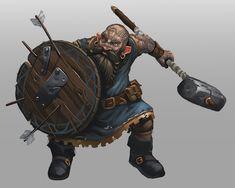 Dwarf by Traaw.deviantart.com on @DeviantArt