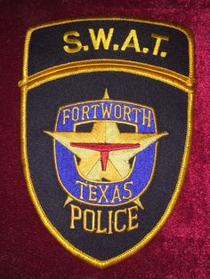 Fort Worth Police Department SWAT officer patch