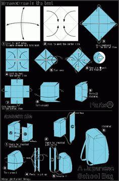 入学式前の飾りになるよ♪折り紙で作る立体ランドセルの折り方! ページ1 | CRASIA(クラシア)