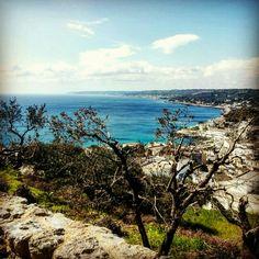 #castro #marina #castromarina #porto #harbour #hill #panorama #sea #puglia #travel #holiday #ThisIsPuglia