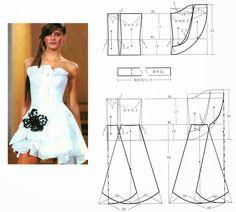 dresses (Chinese method of pattern making)