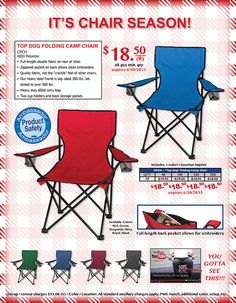 It's Chair Season! - Call Today for More Information!  - http://www.verticallysocial.com/2015/05/14/its-chair-season/