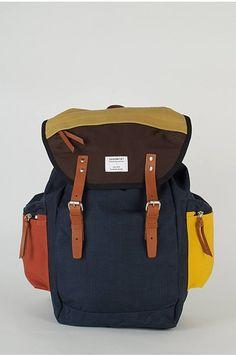Sandqvist Multicolour Lars-Goran Hiking Backpack