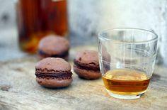 French Chocolate Macaron — Punchfork