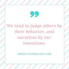 How do you judge?