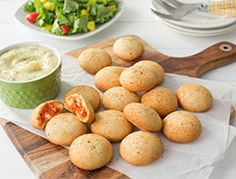 Feeling a #pizzanight but don't want to wait for delivery? Make it quick and easy with our Pepperoni Pizzeria Bites - made even more scrumptious if you add a Whipped Garlic Butter Sauce!