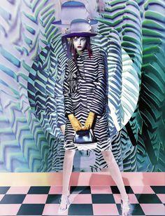Publication: Vogue Italia September 2015 Model: Molly Bair Photographer: Sølve Sundsbø