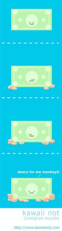 Kawaii Not - The Demands Of Money