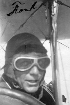 Preparing for Battle, Badass World War I Pilots Said 'Cheese'