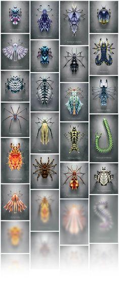 Biotop from Polygonia – Les insectes géométriques de Chaotic Atmospheres