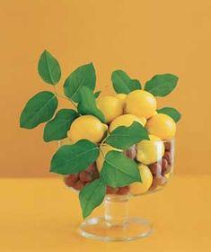 Fruit & nut centerpiece