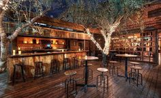 The Best Bars For Outdoor Drinking in L.A.