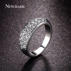 Find More Rings Information about NEWBARK Classic Ring Rose Gold Plated Zinc…