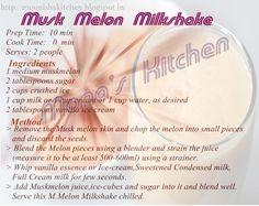 Musk Melon Milkshake