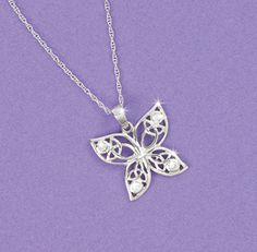 Pendants & Necklaces - Butterfly Pendant