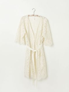 Free People Harvard Lace Robe, $300.00